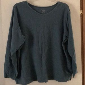 Ladies Columbia Long Sleeve Shirt Sz 3X